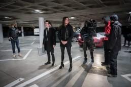 Backstage web serie Mission Geneva