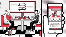 grafica ristorante